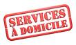"""Tampon """"Services à Domicile"""""""