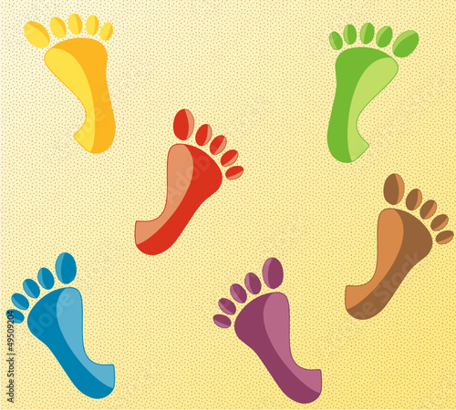 Motifs pieds