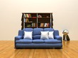 3D Rendering Couch | Sofa