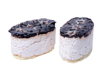 Two cream cake