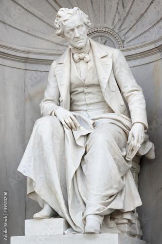 Denkmal von Franz Grillparzer; Wien