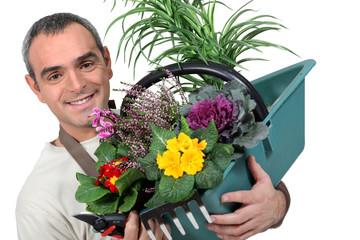 Male florist