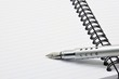 Metal ink pen and notepad