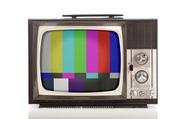 retro portable television