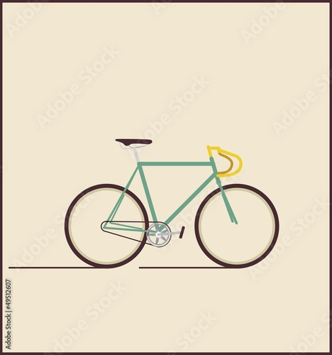 Hipsters bicycle