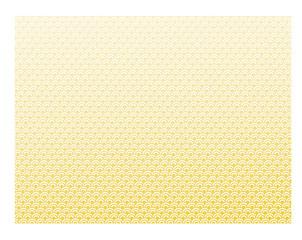 青海波模様ゴールド