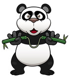 Illustration of Cartoon panda