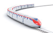 High speed train. My own design.