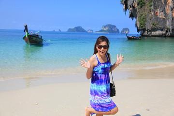 lady on Po Da Island