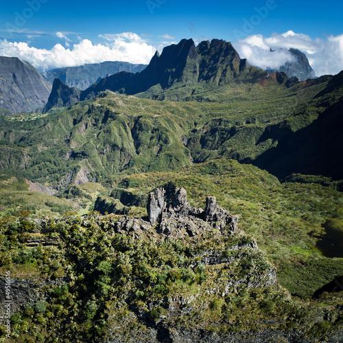 Mafate et les Trois Salazes - Ile de La Réunion