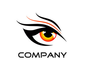 logo red eye
