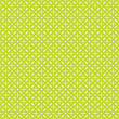 Seamless Pattern Dots Retro Green