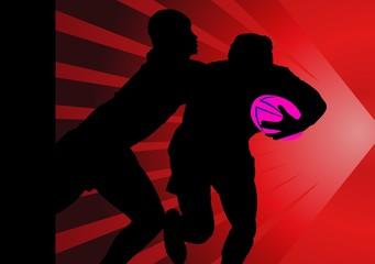 rugby, azione di gioco