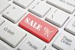 Sale key on keyboard