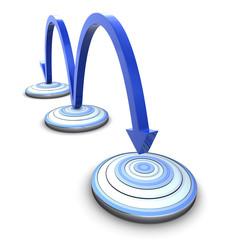 Ziele erreichen - Schritt für Schritt