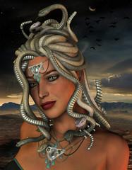 Medusa in der Nacht