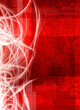 red digital abstract