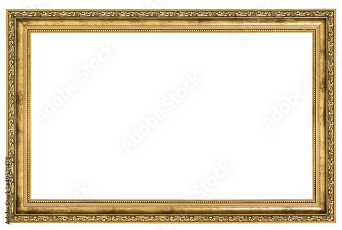 large golden frame
