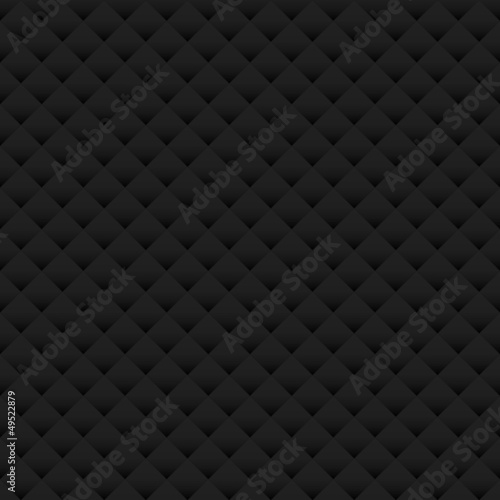 Fotobehang Leder Paper Background Seamless Pattern Black