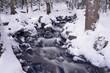 Riviere en hiver