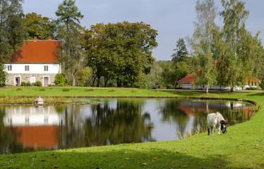 Countryside landscape, Sigulda, Latvia