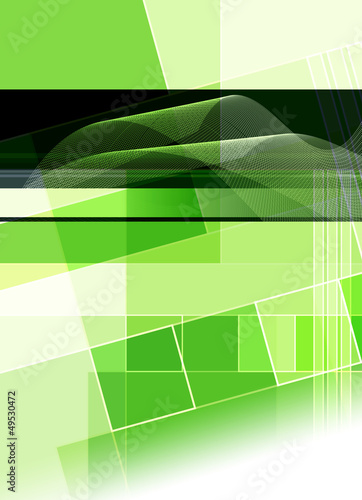 green cover abstract