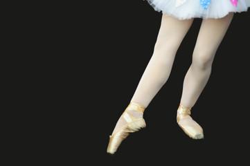 ballerina con scarpette