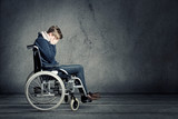 Young Man in Wheel Chair