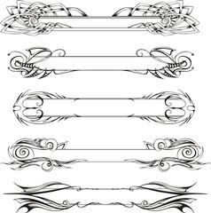 Slim decorative panels