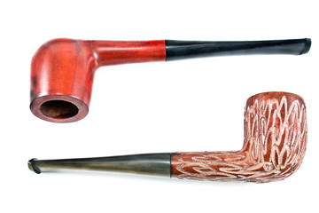 Two tobacco pipes