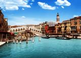 Rialto bridge in Venice, Italy