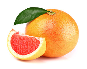Grapefruit with slice