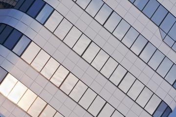 Fensterfassade eines Officegebäudes