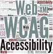 Web Content Accessibility Guidelines Concept