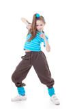 Fototapety hip hop modern dance