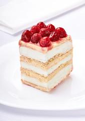 cream chocolate fruit cake sweet food dessert