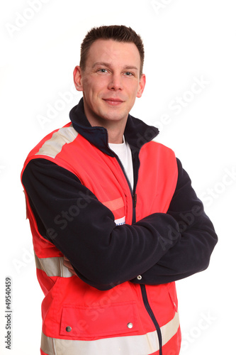 freundlicher Rettungsdienst