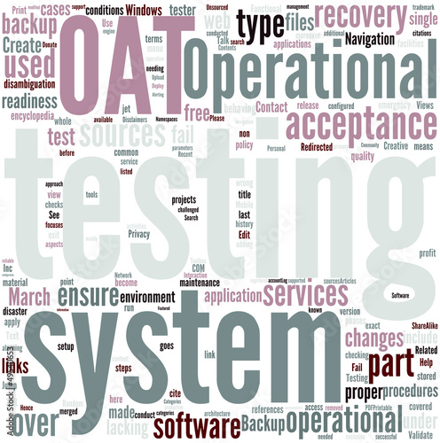 Operational Acceptance Testing Concept