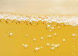 background of yellow beer. macro