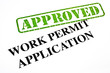Work Permit Application APPROVED