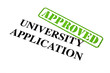 University Application APPROVED