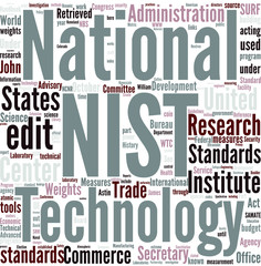 National Institute of Standards and Technology Concept