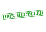 100% RECYCLED
