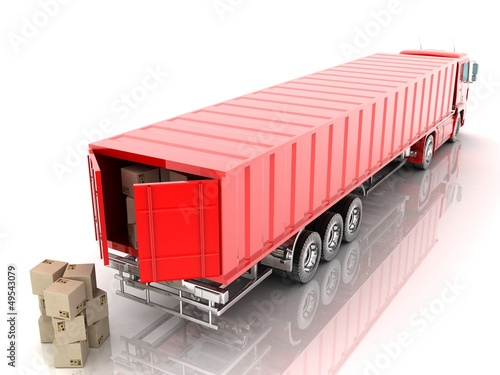 Cargo container and package