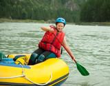 rafting on the raft