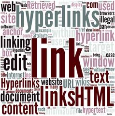 Hyperlink Concept