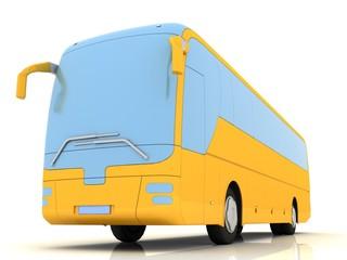 bus (3-D simulation, 3-D visualization)