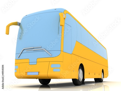 bus (3-D simulation, 3-D visualization)