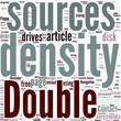 Double density Concept
