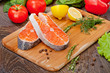 Salmon fille
